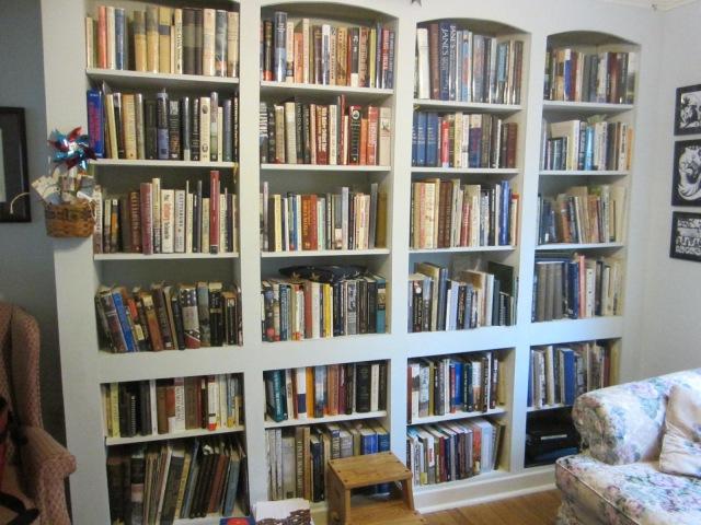 Kết quả hình ảnh cho bookshelf in 20 century